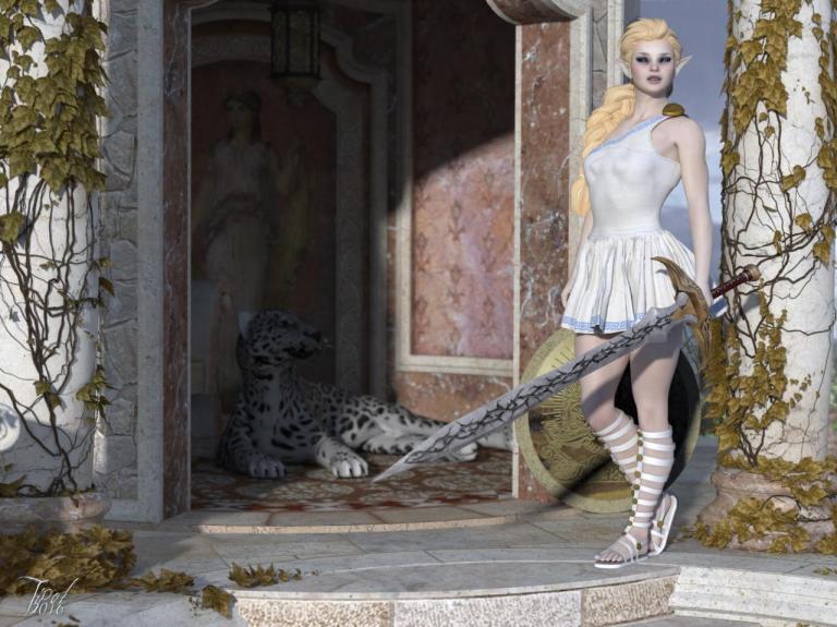 Greek-Fantasy-Warior
