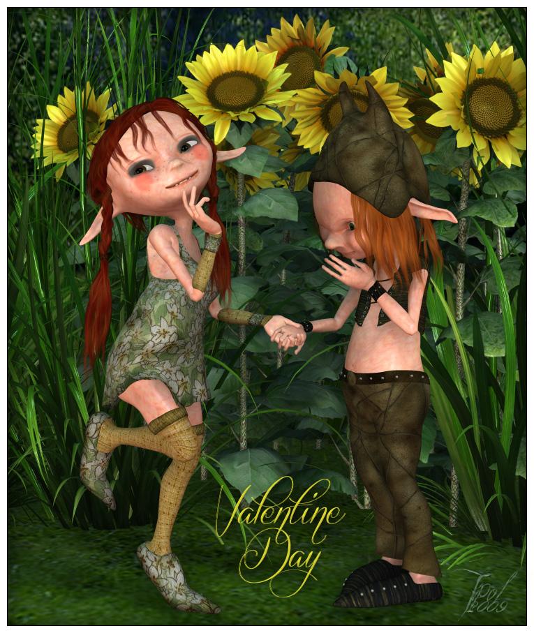 Kali et kelm Valentine Day