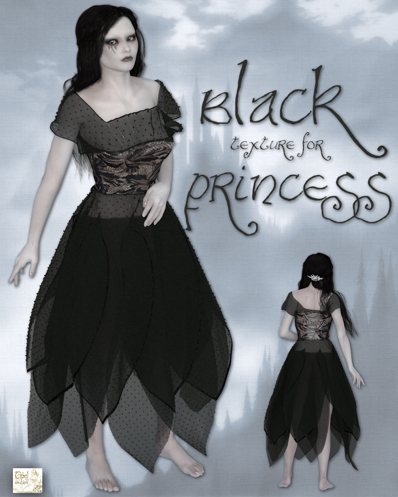 Princess promo1black