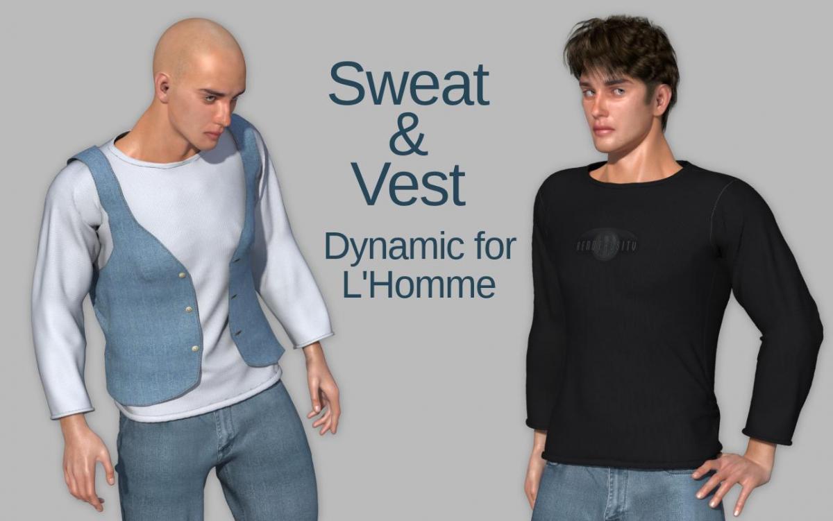 Sweat vestpromotete